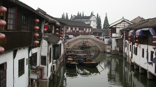 East Asian canal
